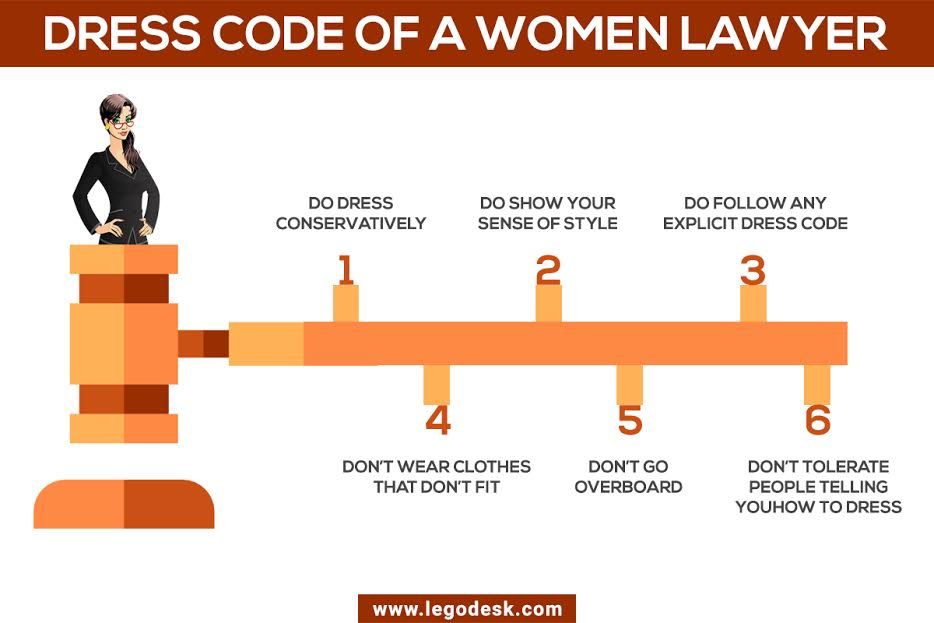 What is the Lady Lawyers Dress Code?