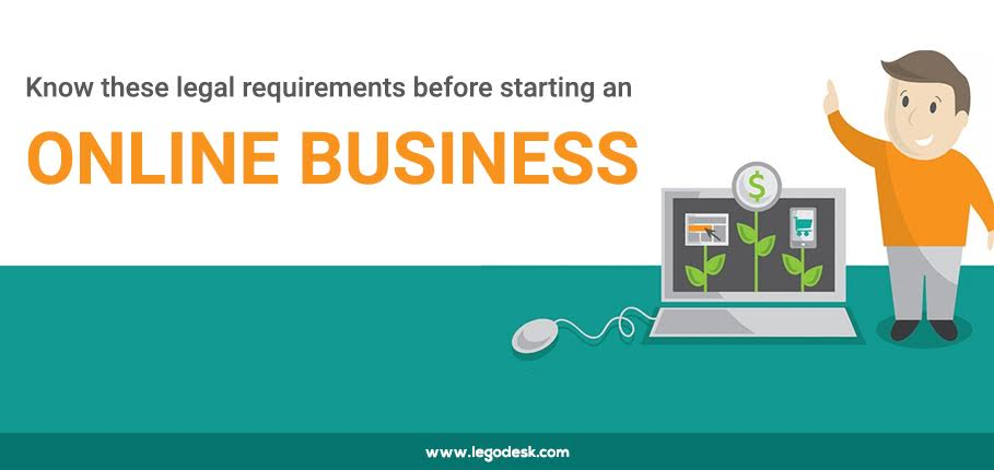 Legal requirements before starting an online business