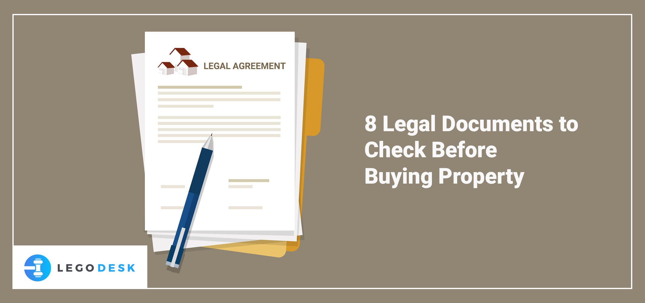 property documents check before buying property