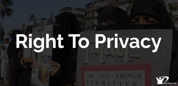 Being a Fundamental Right, Right to Privacy is not an Absolute Right
