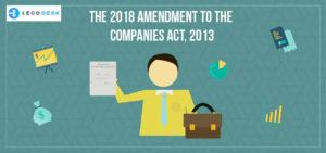 companies amendment rules 2018