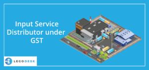 input service distributor under gst