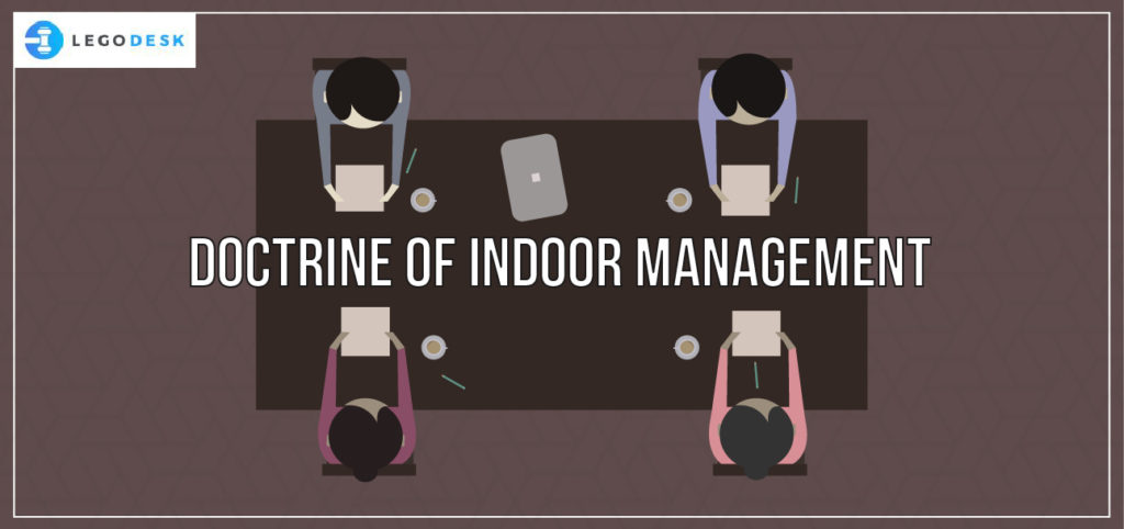 what is doctrine of indoor management