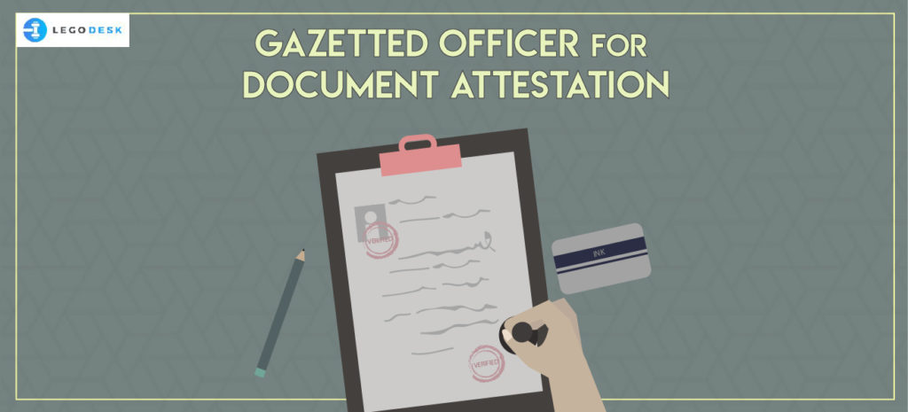gazetted officer who can attest