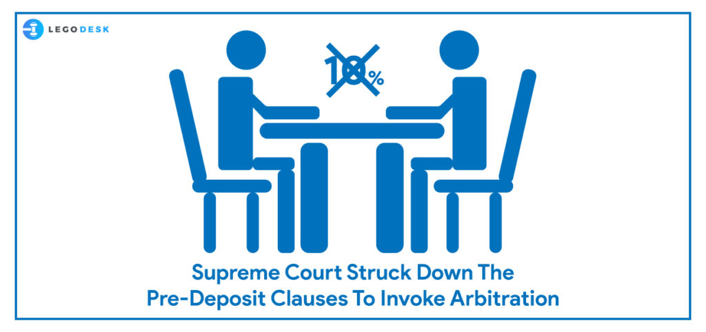 clauses to invoke arbitration