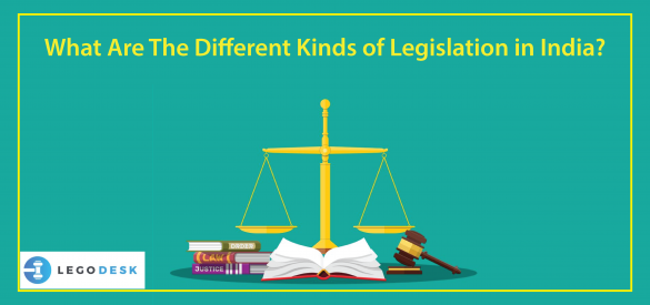 types of legislation in India
