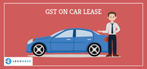 gst on leased cars india
