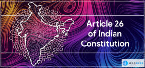 article 26 of indian constitution