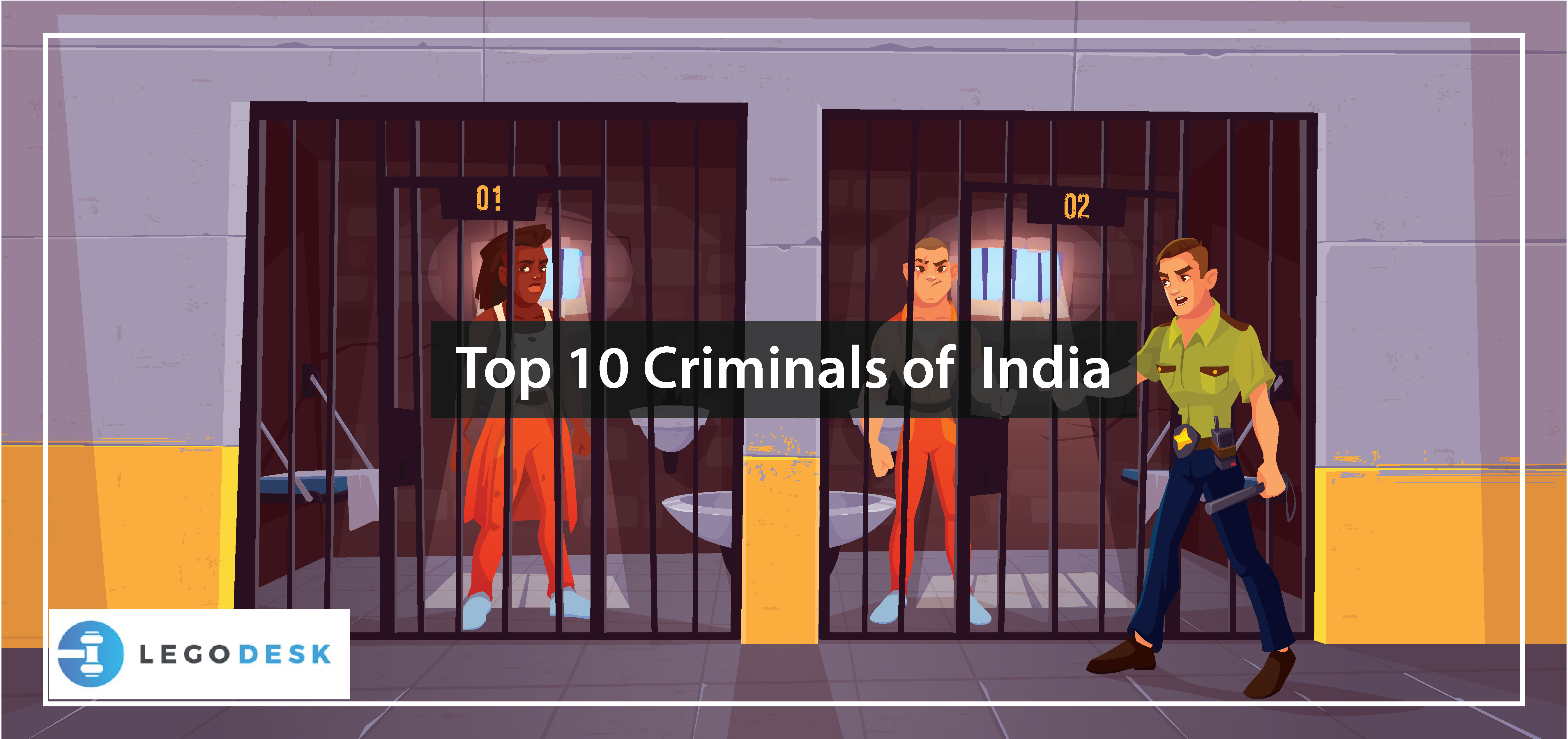 Top 10 Criminals of India - Latest Updated News About Them