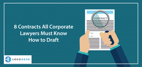 8 Contracts All Corporate Lawyers Must Know How to Draft