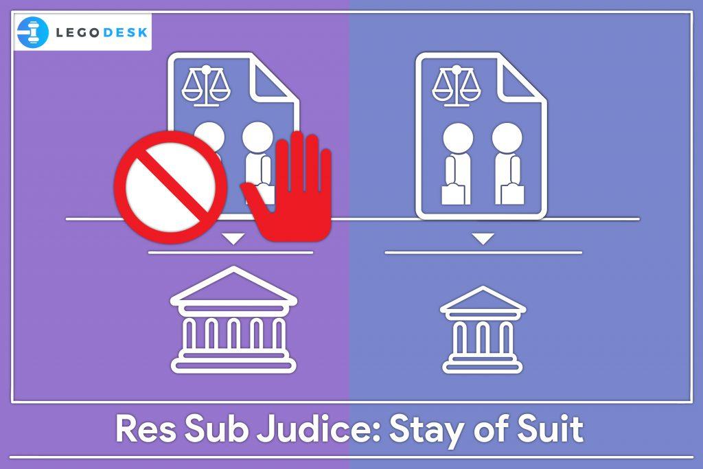Res Sub Judice India