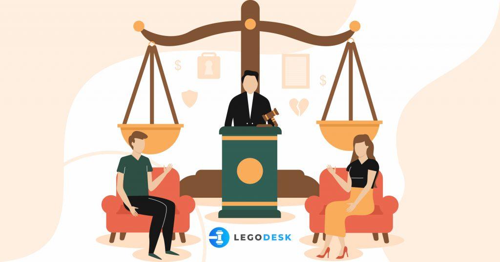 Legodesk- Post-divorce issues