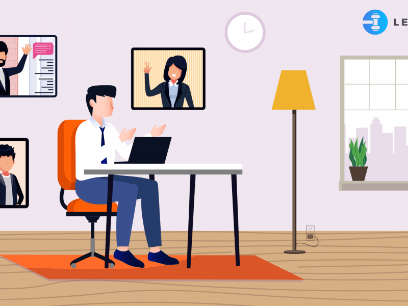 How do lawyers work from home?
